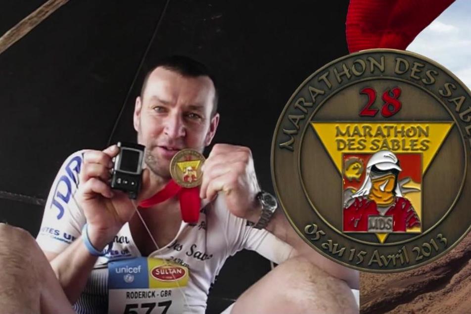 Roddy Riddle Marathon Des Sables 2013